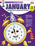 January Monthly Idea Book, Illustrated by: The Mailbox, 1562341405
