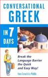 Conversational Greek in 7 Days 9780844291406