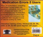 Medication Errors, 5 Users, Farb, Daniel, 1594911401