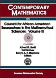Council for African American Researchers in the Mathematical Sciences, , 0821821415