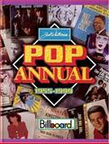 Pop Annual, 1955-1999, Joel Whitburn, 0898201411
