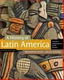 A History of Latin America, Keen, Benjamin and Haynes, Keith, 1111841411