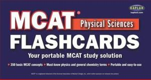 MCAT Physical Sciences Flashcards, Kaplan Educational Center Staff, 0743271416