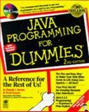 Java Programming for Dummies, Koosis, Donald J., 0764501410