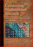 Conducting Multinational Research : Applying Organizational Psychology in the Workplace, Ann Marie Ryan, 1433811413