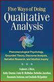 Five Ways of Doing Qualitative Analysis 9781609181420