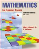 Mandatory Package Mathematics for Elementary Teachers an Activity Approach with Manipulative Kit, Bennett, Albert and Nelson, Ted, 0072431423