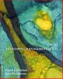 Developing Management Skills, Whetten and Cameron, Kim S., 0131441426