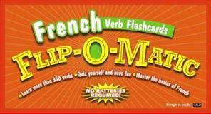 Kaplan French Verb Flashcards Flip-O-Matic, Kaplan Publishing Staff, 0743271424