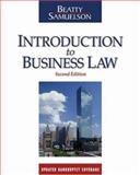Introduction to Business Law, Beatty, Jeffrey F. and Samuelson, Susan S., 0324311427