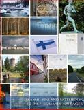 Suomi - Finland Notebook 1/2 Inch Squares 120 Pages, Spicy Journals, 1500661422