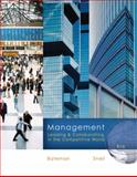 Management : Leading and Collaborating in a Competitive World, Bateman, Thomas S. and Snell, Scott A., 007338142X