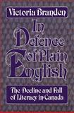 In Defence of Plain English, Victoria Branden, 0888821433