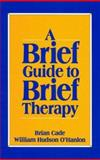 A Brief Guide to Brief Therapy, Cade, Brian and O'Hanlon, Hudson William, 0393701433