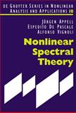 Nonlinear Spectral Theory, Appell, Jurgen and De Pascale, Espedito, 3110181436