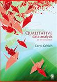 Qualitative Data Analysis : An Introduction, Grbich, Carol, 1412921430