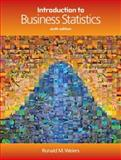 Introduction to Business Statistics, Weiers, Ronald M., 0324381433