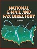 National Email and Fax Directory 22nd Ed, , 1414421443