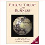 Ethical Theory and Business, Beauchamp, Thomas L. and Bowie, Norman E., 0130831441