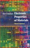 Electronic Properties of Materials : An Introduction for Engineers, Hummel, Rolf E., 038795144X