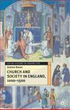 Church and Society in England, 1000-1500, Brown, Andrew, 0333691458