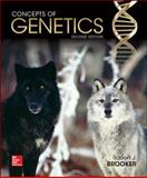 Concepts of Genetics with Connect Access Card, Brooker, Robert, 1259581454