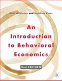 An Introduction to Behavioral Economics, Wilkinson, Nick and Klaes, Matthias, 0230291465