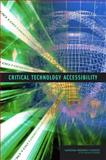 Critical Technology Accessibility, Committee on Critical Technology Accessibility, Air Force Studies Board, Division on Engineering and Physical Sciences, National Research Council, 0309101468