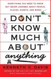 Don't Know Much about Anything, Kenneth C. Davis, 0061251461
