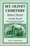 Mt. Olivet Cemetery, Baltimore, Maryland, John J. Winterbottom, 1585491462