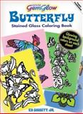 Butterfly GemGlow Stained Glass Coloring Book, Ed, Ed Sibbett, Jr., 0486471470