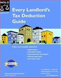Every Landlord's Tax Deduction Guide, Stephen Fishman, 1413301479
