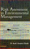 Risk Assessment in Environmental Management 9780471981473