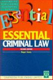 Essentials on Criminal Law, Geary, Roger, 1859411479