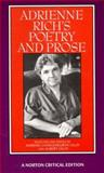 Adrienne Rich's Poetry and Prose, Rich, Adrienne, 0393961478