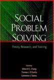 Social Problem Solving : Theory, Research, and Training, D'Zurilla, Thomas J. and Chang, Edward C., 1591471478