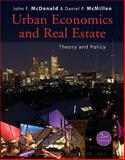 Urban Economics and Real Estate : Theory and Policy, McDonald, John F. and McMillen, Daniel P., 047059148X