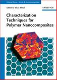 Characterization Techniques for Polymer Nanocomposites, , 3527331484