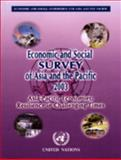 Economic and Social Survey of Asia and the Pacific 2003, Economic and Social Commission for Asia and the Pacific Staff, 9211201489