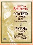Concerto in C Major, Op. 56 (Triple Concerto), Ludwig van Beethoven, 0486401480