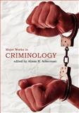 Criminology Anthology, Ackerman, Alissa, 1935551485