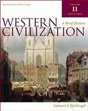 Western Civilization : A Brief History, Spielvogel, Jackson J., 0495571490