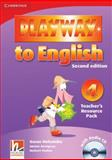 Playway to English Level 4 Teacher's Resource Pack with Audio CD, Günter Gerngross and Herbert Puchta, 0521131499