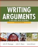 Writing Arguments : A Rhetoric with Readings, Ramage, John D. and Bean, John C., 0205171494