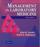 Administration and Supervision in Laboratory Medicine, Snyder, John, 0397551495
