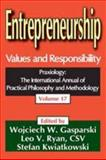 Entrepreneurship : Values and Responsibility, , 141281149X