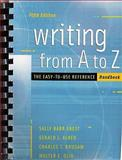 Writing from a to Z : The Easy-To-Use Reference Handbook, Ebest, Sally Barr, 007296149X