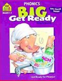 Phonics 2-3 Big Get Ready!, School Zone Publishing Company Staff, 0887431496