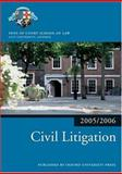 Civil Litigation 2005/6, Inns of Court School of Law Staff, 0199281491