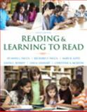 Reading and Learning to Read, Vacca, Jo Anne L. and Vacca, Richard T., 0133831493
